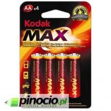 Bateria alkaliczna Kodak AA LR6 4 szt.