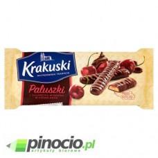 Ciastka Krakuski paluszki z galaretką wiśniową 144g.