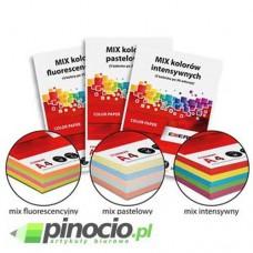 Papier ksero kolor A4 mix intensywny 20x5 kolorów 80g