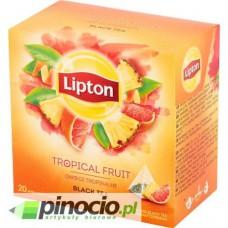 Herbata czarna w piramidkach Lipton Owoce tropikalne 20 szt.