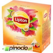 Herbata czarna w piramidkach Lipton Passion Raspberry 20 szt.