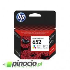 Tusz HP F6V24AE No 652 kolor