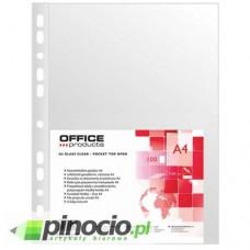 Koszulki A4/100 krystaliczne 50 mic. Office Products