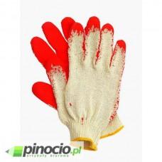 Rękawice bawełniane wampirki z gumą