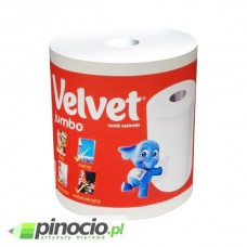 Ręcznik papierowy dwuwarstwowy w roli Velvet Jumbo