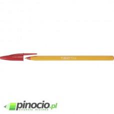 Długopis jednorazowy Bic Orange czerwony