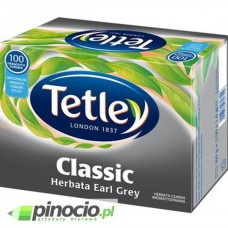 Herbata czarna Tetley Classic Earl Grey 100 szt.