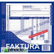 Faktura VAT 2/3 A4 1+2 MP 102-XE