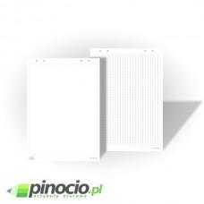 Blok do flipchartów 2x3 60x90 cm 30 kart kratka SBA009