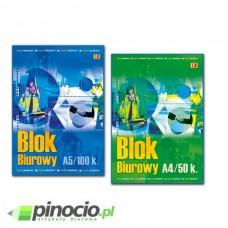 Blok biurowy Barbara A5 w kratkę 100 kartek 0803412