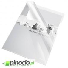 Ofertówki krystaliczne Esselte A4 sztywne bezbarwne 25 szt.55430