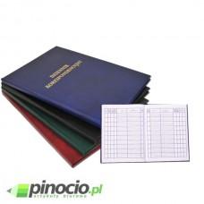 Dziennik korespondencyjny Barbara A4/96 kart bordowy 1803211