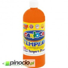 Farba tempera pomarańczowa 1000ml.KW Trade