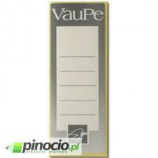 Etykiety do segregatorów VauPe samoprzylepne 55x155 mm 25 szt.