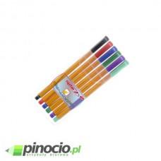 Cienkopis Rystor RC-04 zestaw 6 kolorów