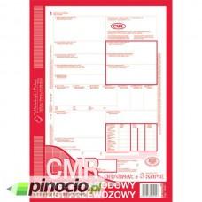 CMR Międzynarodowy list przewozowy MiP A4 (oryginał + 3 kopie) 800-1