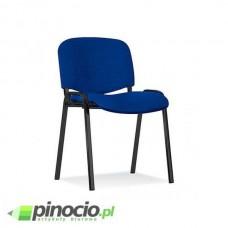 Krzesło biurowe Nowy Styl Iso Black niebiesko-czarne