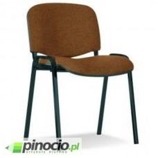 Krzesło biurowe Nowy Styl Iso Black brązowo-czarne