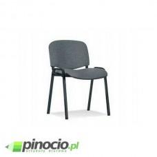 Krzesło biurowe Nowy Styl Iso Black szaro-czarne