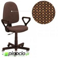 Krzesło obrotowe Nowy Styl Prestige Gtp brązowo-czarne