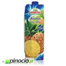Sok Hortex w kartonie ananasowy 1l