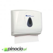 Pojemnik na pojedyncze reczniki papierowe MERIDA TOP MINI, z tworzywa ABS, okienko SZARE PZ2TS