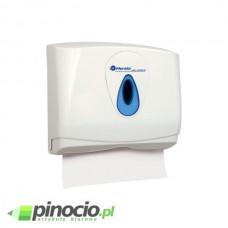 Pojemnik na pojedyncze reczniki papierowe MERIDA TOP MINI z tworzywa. ABS, okienko NIEBIESKIE PZ2TN