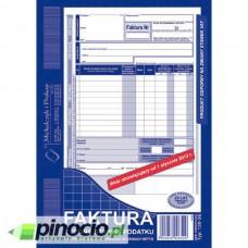 Faktura VAT netto 1-stawka MiP A5 (oryginał+kopia) 130-3E
