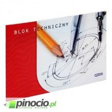 Blok techniczny Interdruk biały A4