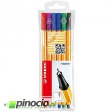 Cienkopis Stabilo Point 88 zestaw 6 kolorów
