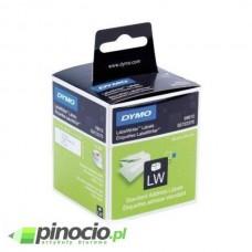 Etykiety adresowe Dymo 99010 28x89 mm białe