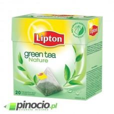 Herbata zielona w piramidkach Lipton Green Tea Nature 20 szt.