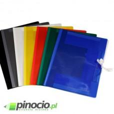 Teczka wiązana Biurfol A4 plastikowa niebieska