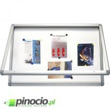 Gablota suchościeralno-magnetyczna 2x3 w ramie aluminiowej 60x90 cm GS196