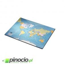 Podkład na biurko Esselte - Mapa Świata 54x41 cm  32184