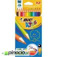 Kredki ołówkowe Bic Kids TropiColors 12 kolorów