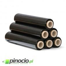 Folia zabezpieczająca stretch 23 mic. 3 kg czarna