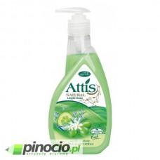 Mydło w płynie z dozownikiem Attis Gold Drop 400ml Olive & Cucumber